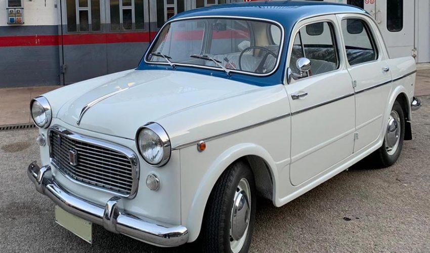 FIAT 1100 103 EXPORT ANNO 1962